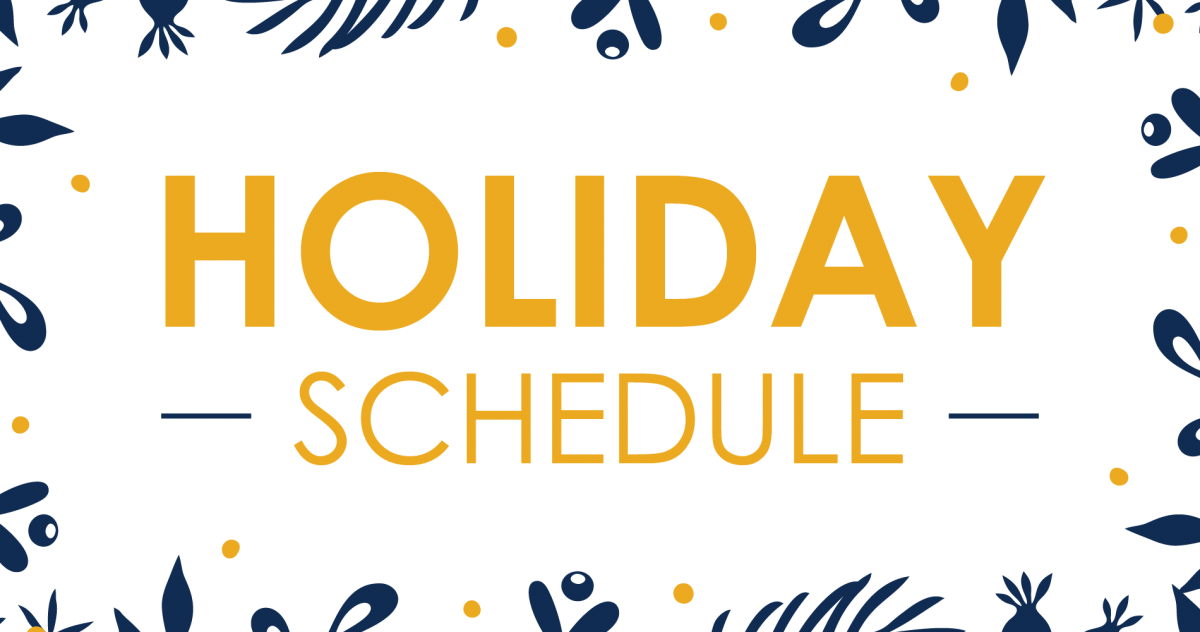 City of Riverside Holiday Hours