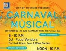 Carnaval Musical | September 20-22