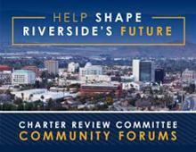 Help Shape Riverside's Future