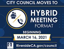 City Council Moves to Hybrid Meeting Format