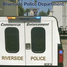 Riverside Police Vehicle