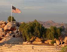 American Flag at Mt. Rubidoux