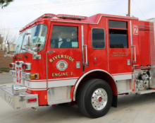 Measure Z funded fire engine