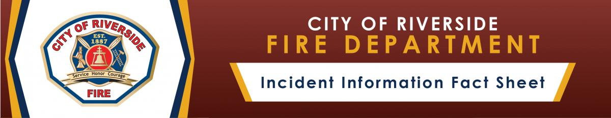 Fire incident Banner