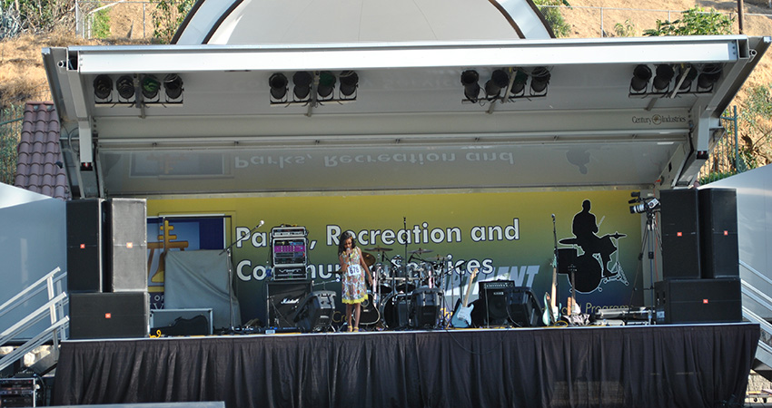 Mobile Stage Parks Recreation And Community Services