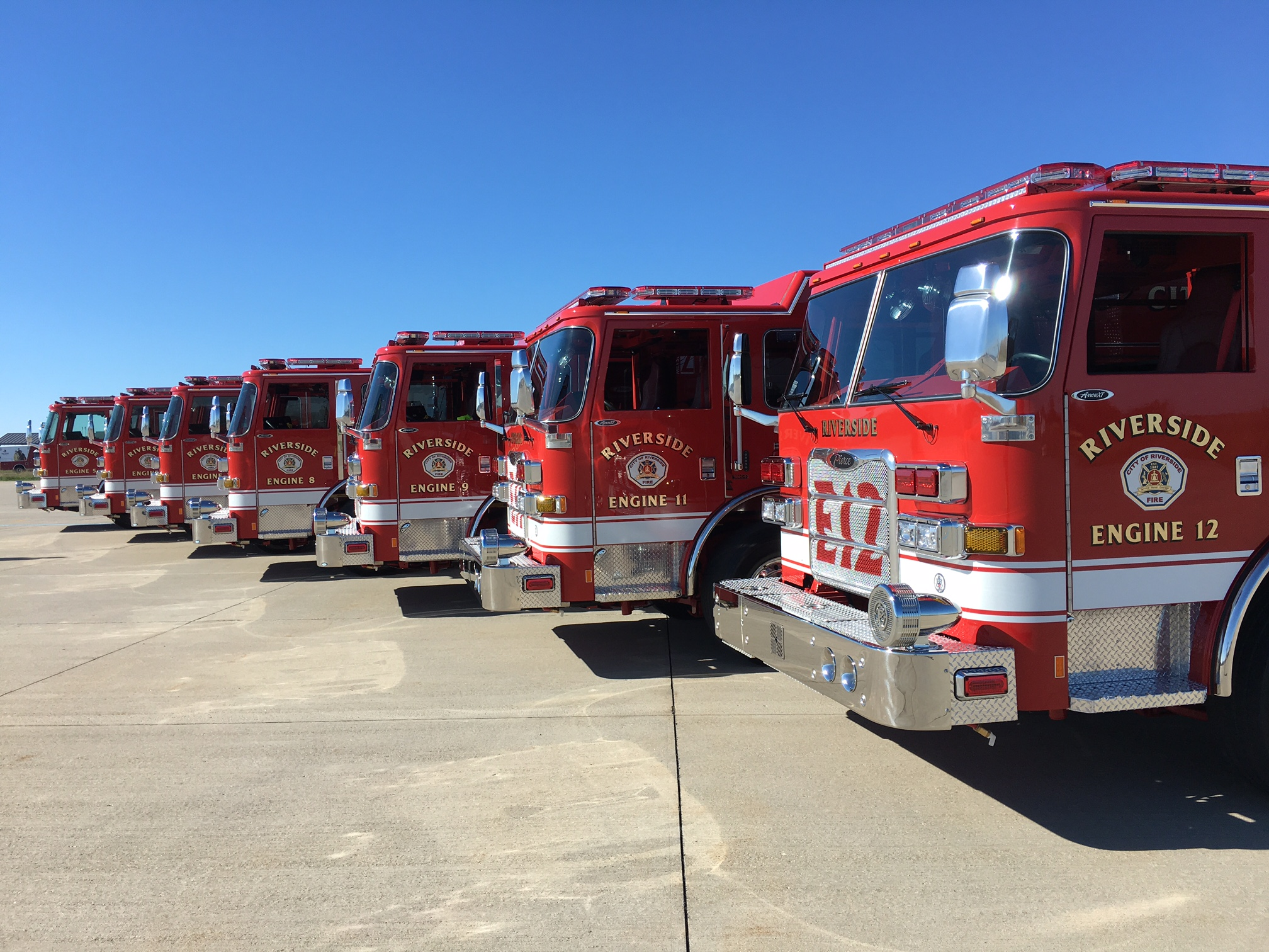new fire apparatus