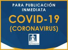 Information Sobre COVID- 19 (Coronavirus)
