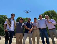 ISCMA Team and Its drone