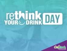 Rethink Your Drink Day Logo