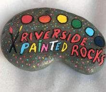 Riverside Painted Rock
