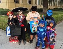 Riverside Trick-or-treaters