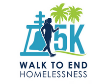 Walk logo consisting of Raincross and image of walker