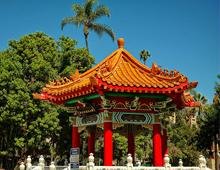 Chinese Pavilion in Downtown Riverside
